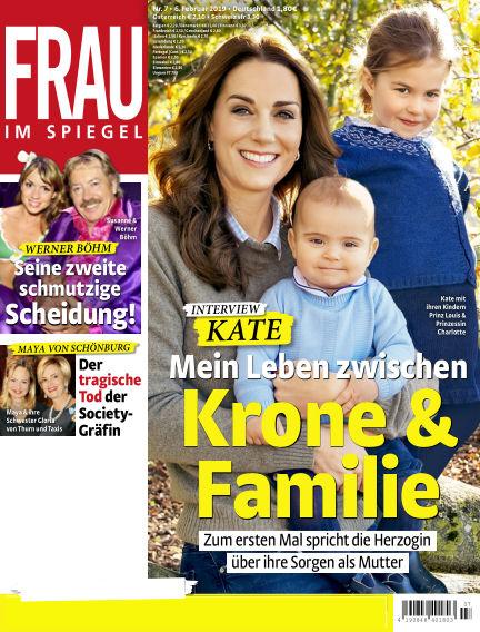 Frau im Spiegel February 06, 2019 00:00