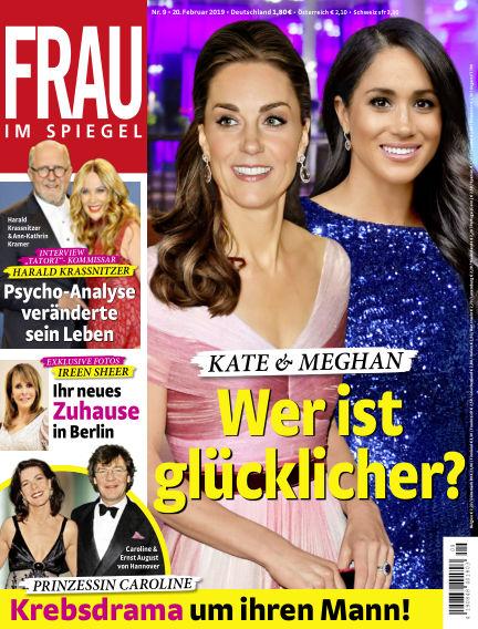 Frau im Spiegel February 20, 2019 00:00