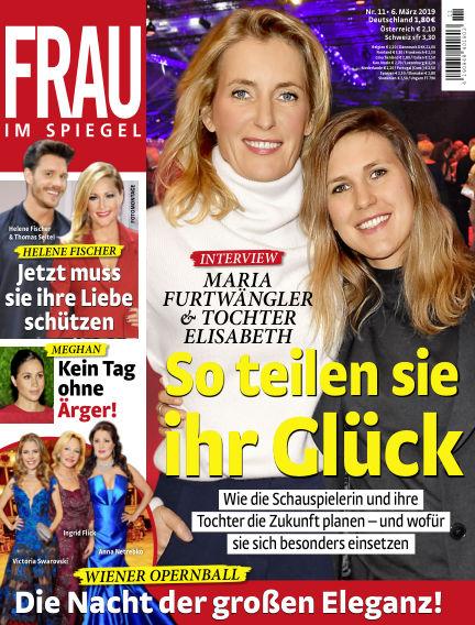 Frau im Spiegel March 06, 2019 00:00