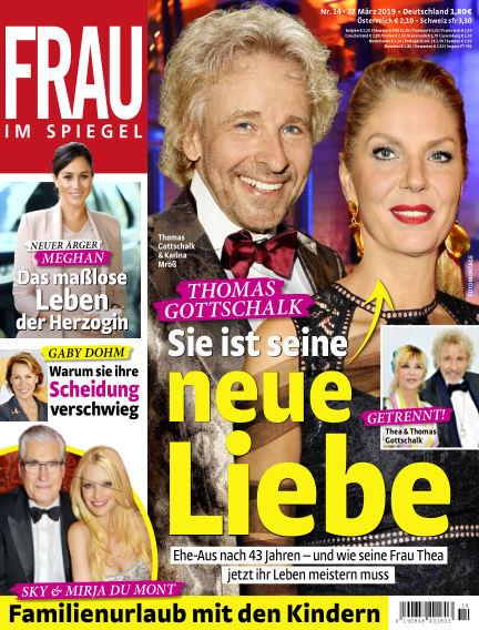 Frau im Spiegel March 27, 2019 00:00