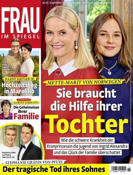 Frau im Spiegel April 03, 2019 00:00