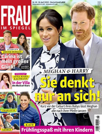 Frau im Spiegel April 24, 2019 00:00