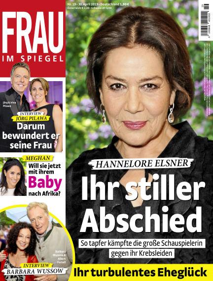 Frau im Spiegel April 30, 2019 00:00