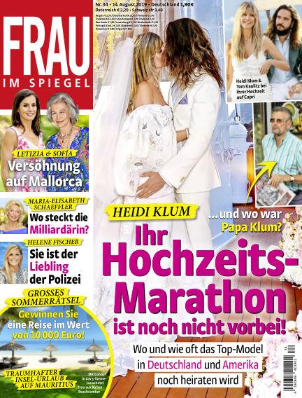 Frau im Spiegel August 14, 2019 00:00