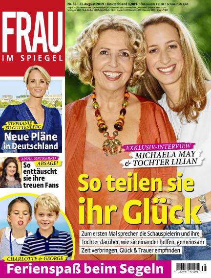 Frau im Spiegel August 21, 2019 00:00