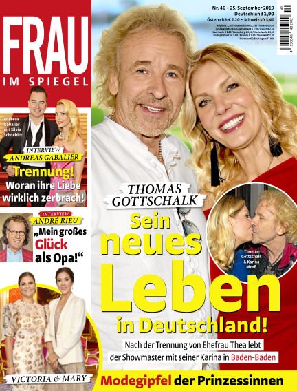 Frau im Spiegel September 25, 2019 00:00