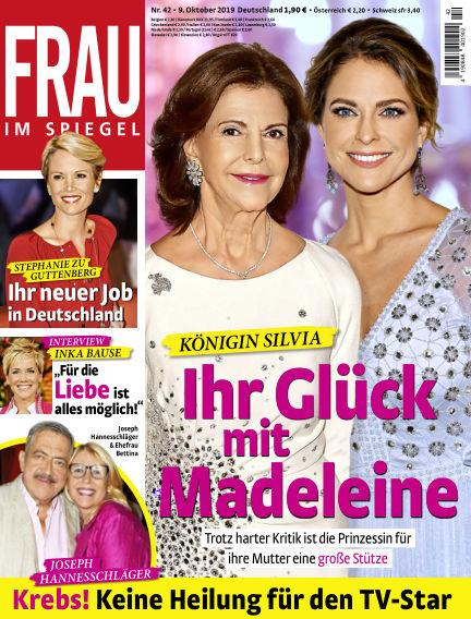 Frau im Spiegel October 09, 2019 00:00