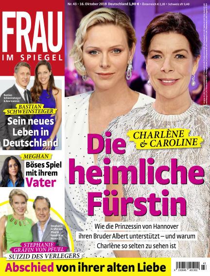 Frau im Spiegel October 16, 2019 00:00