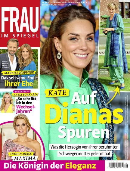 Frau im Spiegel October 23, 2019 00:00