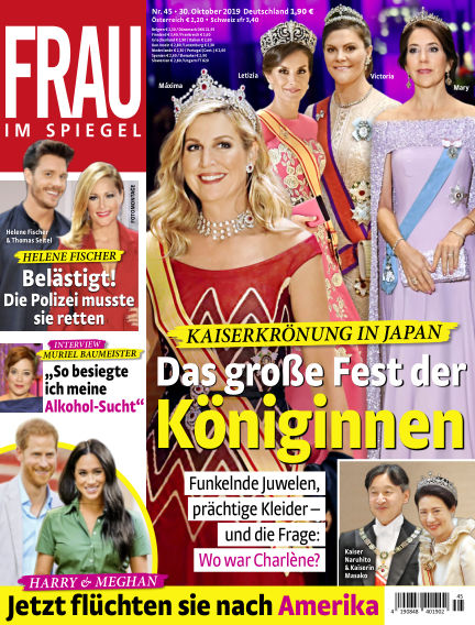 Frau im Spiegel October 30, 2019 00:00