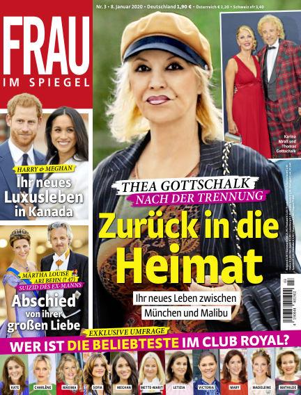 Frau im Spiegel January 08, 2020 00:00