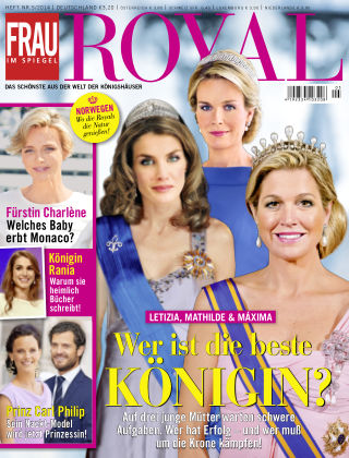Frau im Spiegel Royal NR.05 2014