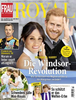 Frau im Spiegel Royal NR07-18