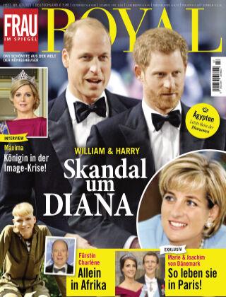 Frau im Spiegel Royal 07-2021