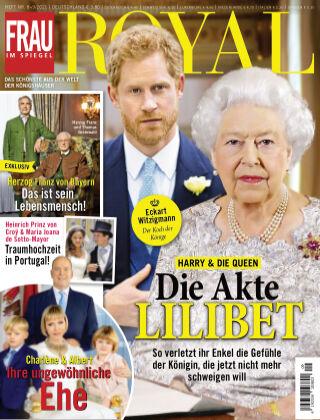 Frau im Spiegel Royal 08-2021