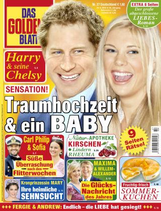 Das Goldene Blatt NR.27 2015