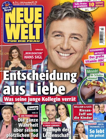 Neue Welt January 08, 2020 00:00