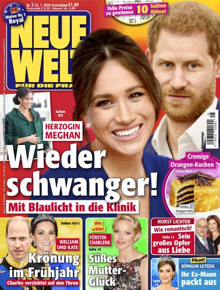 Neue Welt January 22, 2020 00:00