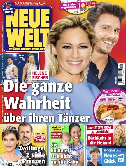 Neue Welt January 29, 2020 00:00