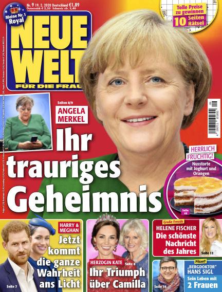 Neue Welt February 19, 2020 00:00