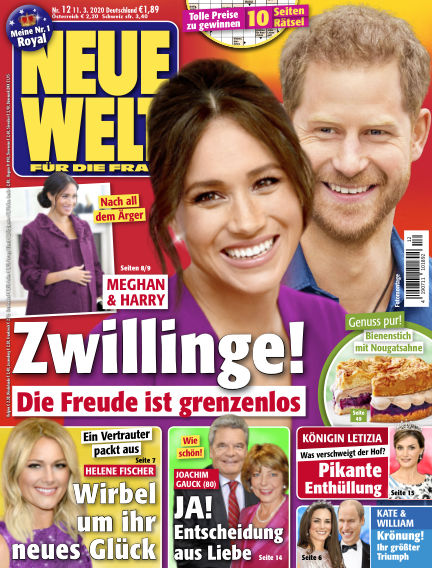 Neue Welt March 11, 2020 00:00