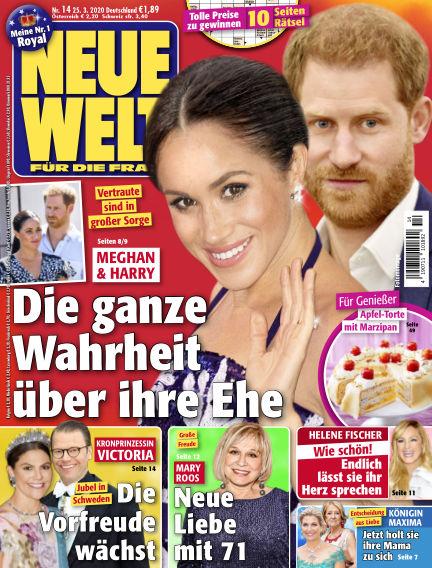 Neue Welt March 25, 2020 00:00