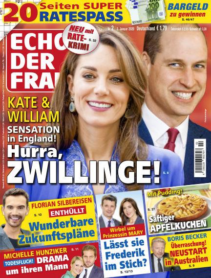 Echo der Frau January 02, 2020 00:00