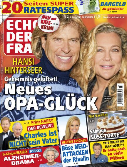 Echo der Frau January 08, 2020 00:00
