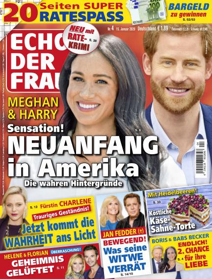 Echo der Frau January 15, 2020 00:00