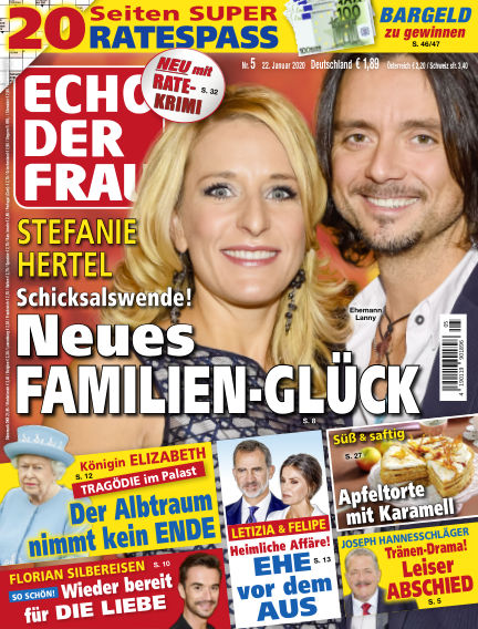 Echo der Frau January 22, 2020 00:00