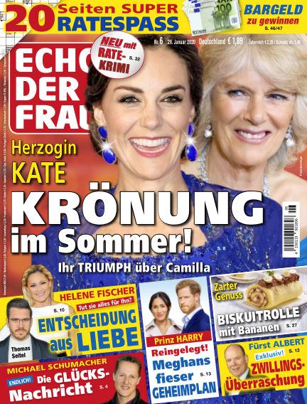 Echo der Frau January 29, 2020 00:00