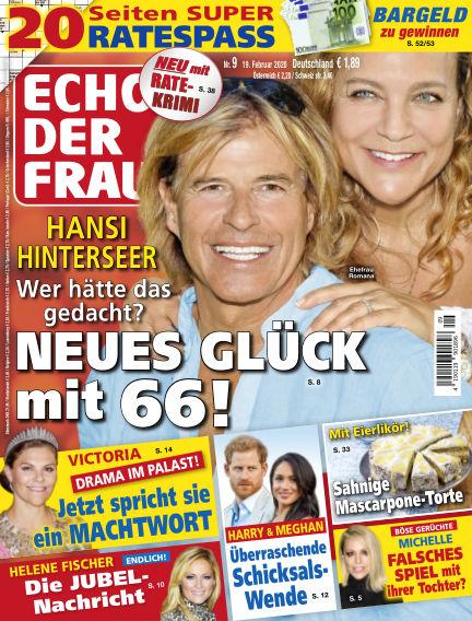 Echo der Frau February 19, 2020 00:00