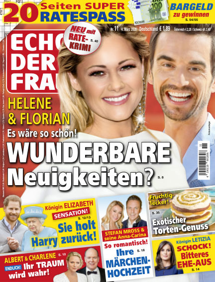 Echo der Frau March 04, 2020 00:00