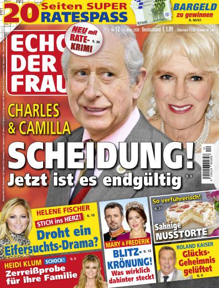 Echo der Frau March 11, 2020 00:00