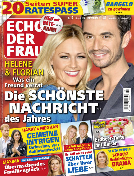 Echo der Frau April 15, 2020 00:00