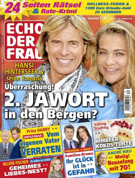 Echo der Frau July 15, 2020 00:00