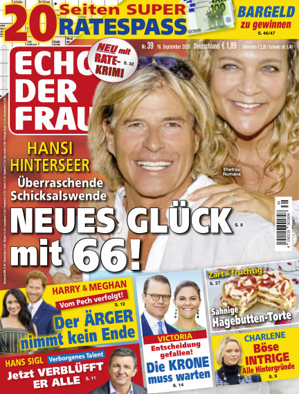 Echo der Frau September 16, 2020 00:00