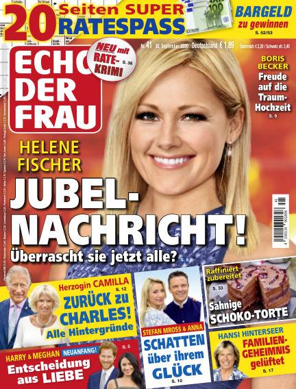 Echo der Frau September 30, 2020 00:00