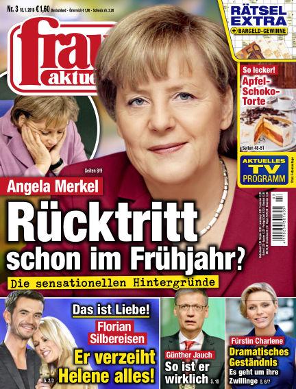 frau aktuell January 18, 2016 00:00