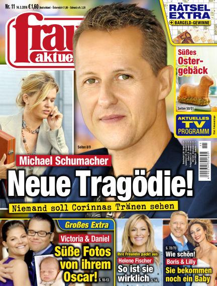 frau aktuell March 14, 2016 00:00