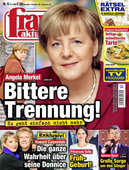 frau aktuell March 21, 2016 00:00