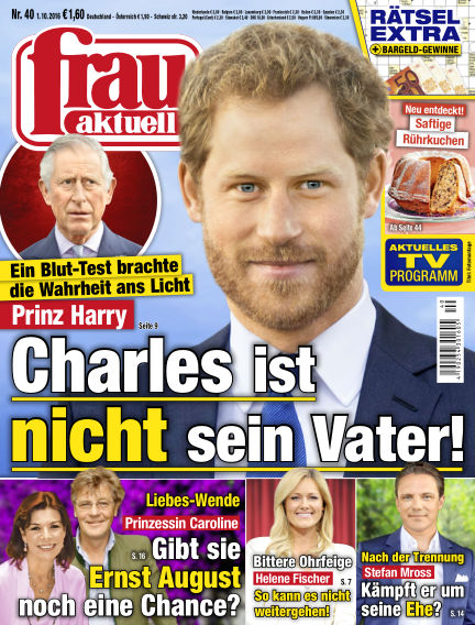 frau aktuell October 01, 2016 00:00
