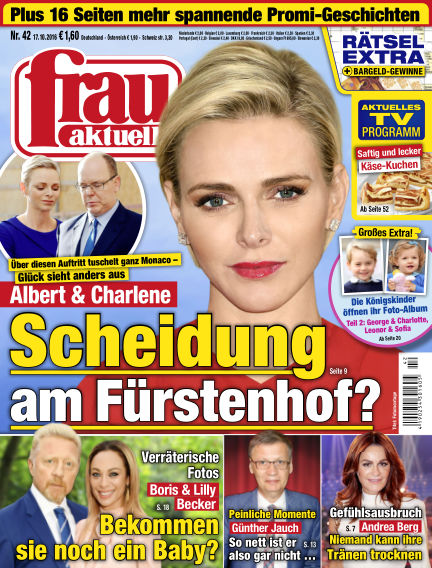 frau aktuell October 17, 2016 00:00