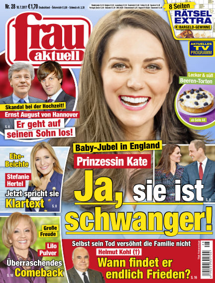 frau aktuell July 10, 2017 00:00