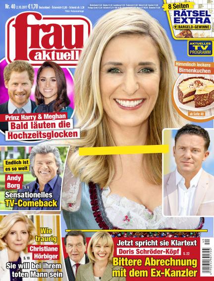 frau aktuell October 02, 2017 00:00