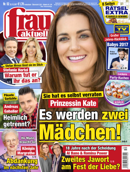 frau aktuell December 22, 2017 00:00