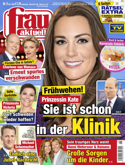 frau aktuell January 29, 2018 00:00