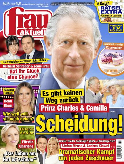 frau aktuell July 02, 2018 00:00