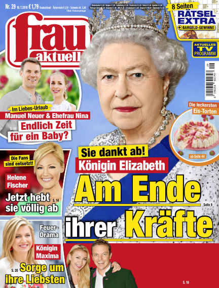 frau aktuell July 16, 2018 00:00