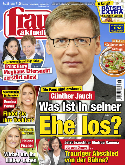 frau aktuell September 03, 2018 00:00